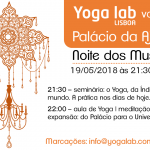 yoga lab no palácio