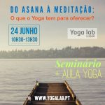 Seminário + Aula de Yoga